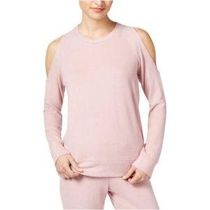 Hippie Rose cold shoulder sweatshirt